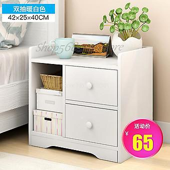 Simple Bedside Table Shelf, Storage Small Cabinet