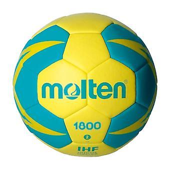 Bal voor handbal gesmolten H2X1800-YG leatherette (maat 2)