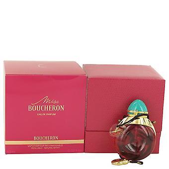 Miss Boucheron Eau De Parfum recargable por Boucheron 0,33 oz Eau De Parfum recargable