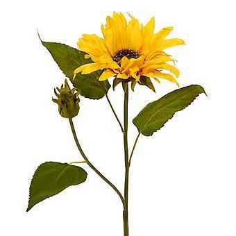 Artificial Sunflower Branch S Deluxe 50 cm