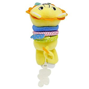 Teethers Plush Dolls Yellow Lion Doll Toy With Built-in Music Box