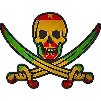Tarra tarra merirosvo jack rackham calico maa lippu WG kranaatti