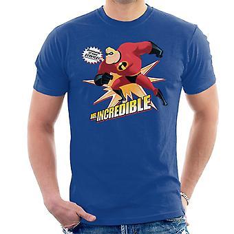 Pixar The Incredibles Mr Incredible Superhero At Your Service Men's T-Shirt