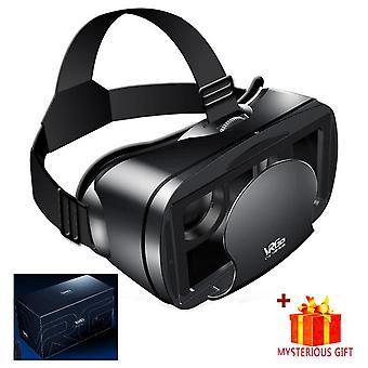 Realitate virtuală 3d vr cască inteligent ochelari casca pentru smartphone-uri telefon mobil mobil 7 inch lentile binoclu cu controlere
