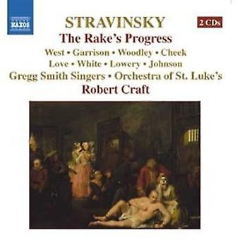 I. Stravinsky - Igor Stravinsky: The Rake's Progress [CD] USA import