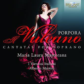 Nicola Porpora - Nicola Antonio Porpora: Il Vulcano - Cantatas for Soprano [CD] USA import