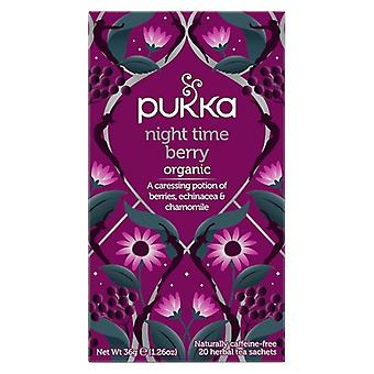 Pukka Night Time Berry Tea Bags 80