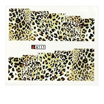 Vand decals - Leopard - A111 - For negle