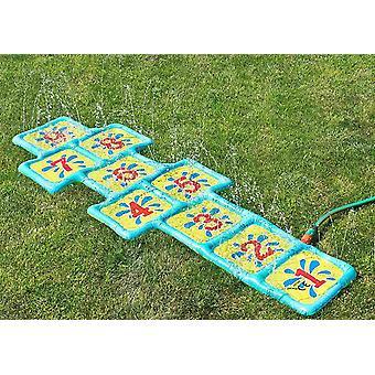 FengChun Wasserspielmatte Wasserspielzeug Hpfspiel , Himmel Hlle Spiel fr den Garten 178x59cm