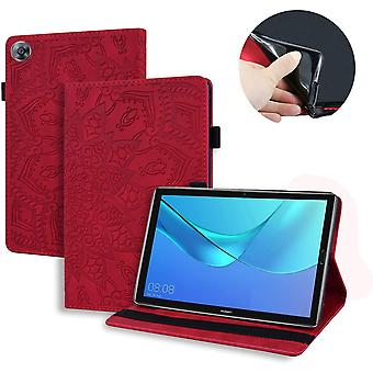 FengChun Schutzhülle für Huawei Mediapad M5 Pro/M5 10 10.8 Zoll Leder Hülle Stand Flip Cover
