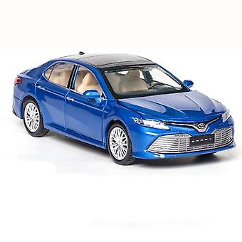 1:32 toyota camry Car Alloy Car Die Toy Car Model Sound and Light Children's Toy Collectibles(Blue)
