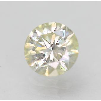 Sertifioitu 0,71 karat I SI3 pyöreä brilliant parannettu luonnollinen löysä timantti 5,81mm