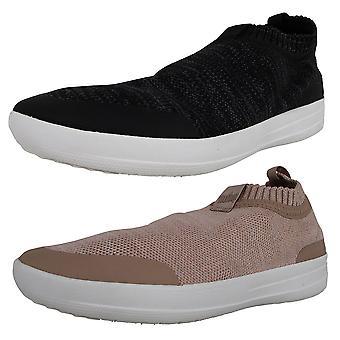 Fitflop Femmes Uberknit Slip Sur Chaussures Sneaker