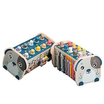 Blue xylophone 1-3 years old educational toys children learning musical toys x7618