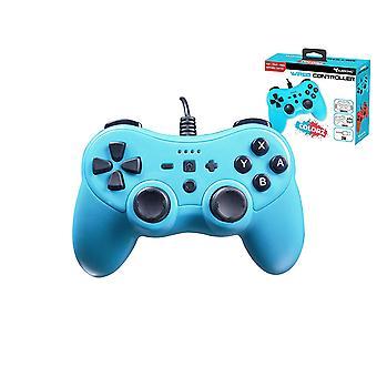 Podzvukový káblový ovládač PRO-S Blue Colorz pre nintendo switch