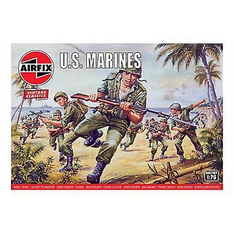 第二次世界大戦アメリカ海兵隊 1:76 エアフィックスフィギュア