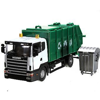 Scania شاحنة القمامة نموذج 18 * 8 * 7cm