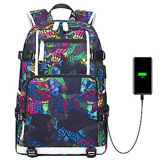 Travel & Laptop Backpack With Usb Port