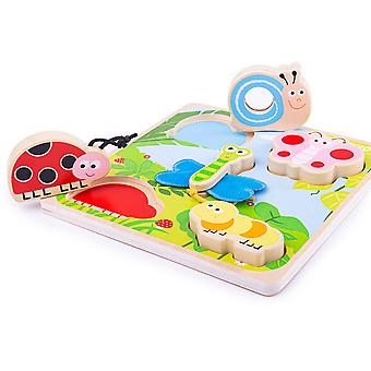Tidlo Touch and Feel Puzzle - Insects