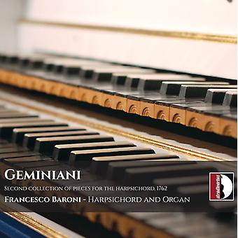 Geminiani / Baroni - Second Collection of Pieces for the Harpsichord [CD] USA import