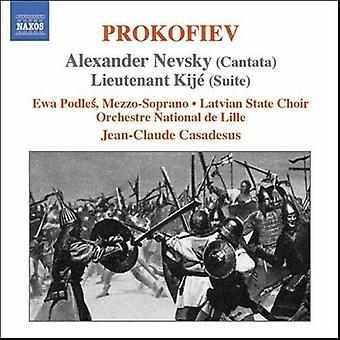 Alexander Nevsky Lieutenant Kije (Casadesus Podles) CD (2006)