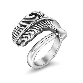 Feather Arrow Ring Men's Titanium Steel Ring Fashion Personality Girls Index Finger Feather Rings Ring Sa956