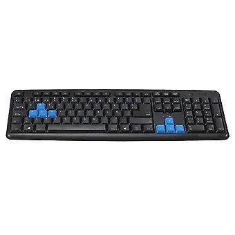 Tastiera a spina impermeabile cablata ultrathin a 104 tasti per Pc Game Office