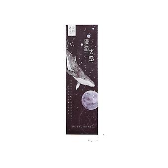 30pcs/pack Exquisit Roaming Space Book Holder Bookmark for books Stationery Marcapaginas Material