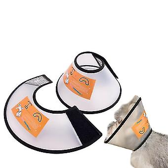 Adjustable Pet Cone Collar For Cats Puppy Rabbit, Pet Neck Cover Protect(XL)