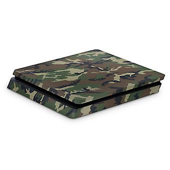 GNG PS4 Slim Console Camo Skin Decal Vinal Sticker + 2 Controller Skins Set
