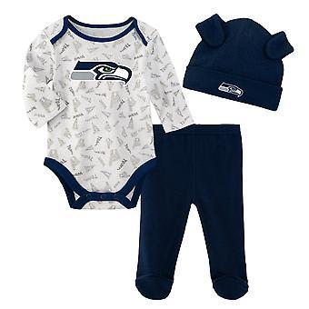 NFL Newborn Baby Set - LITTLE Seattle Seahawks