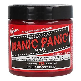 Permanent färgämne Klassisk Manic Panic Pillarbox Röd (118 ml)