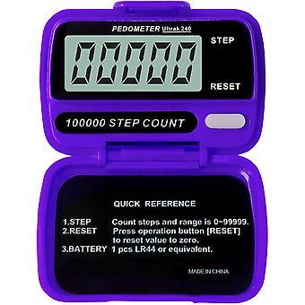 Ultrak 240 - Contapassi elettronico - viola