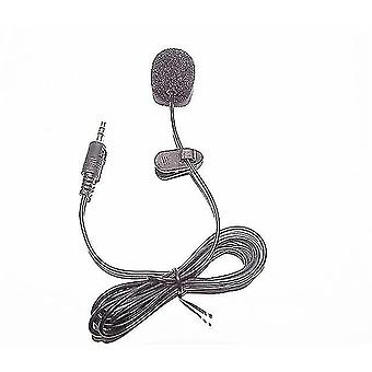 Microphones mini portable microphone handle 1.5M condenser clip-on lapel recording stereo wired for phone laptop