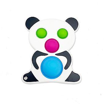 Panda Extrusion Fidget Legetøj Push Pop Bubble Stress Relief Legetøj
