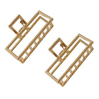 2pcs Non-slip Metal Claw Clips