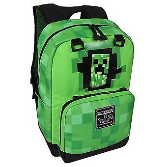 Minecraft Schoolbag Grundskola Barnens Skolväska Ryggsäck