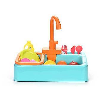 Bird Feeder Automatic Parrot Bathtub Swimming Pool  Bath Shower Water Dispenser Cage Bathroom Toys Bule