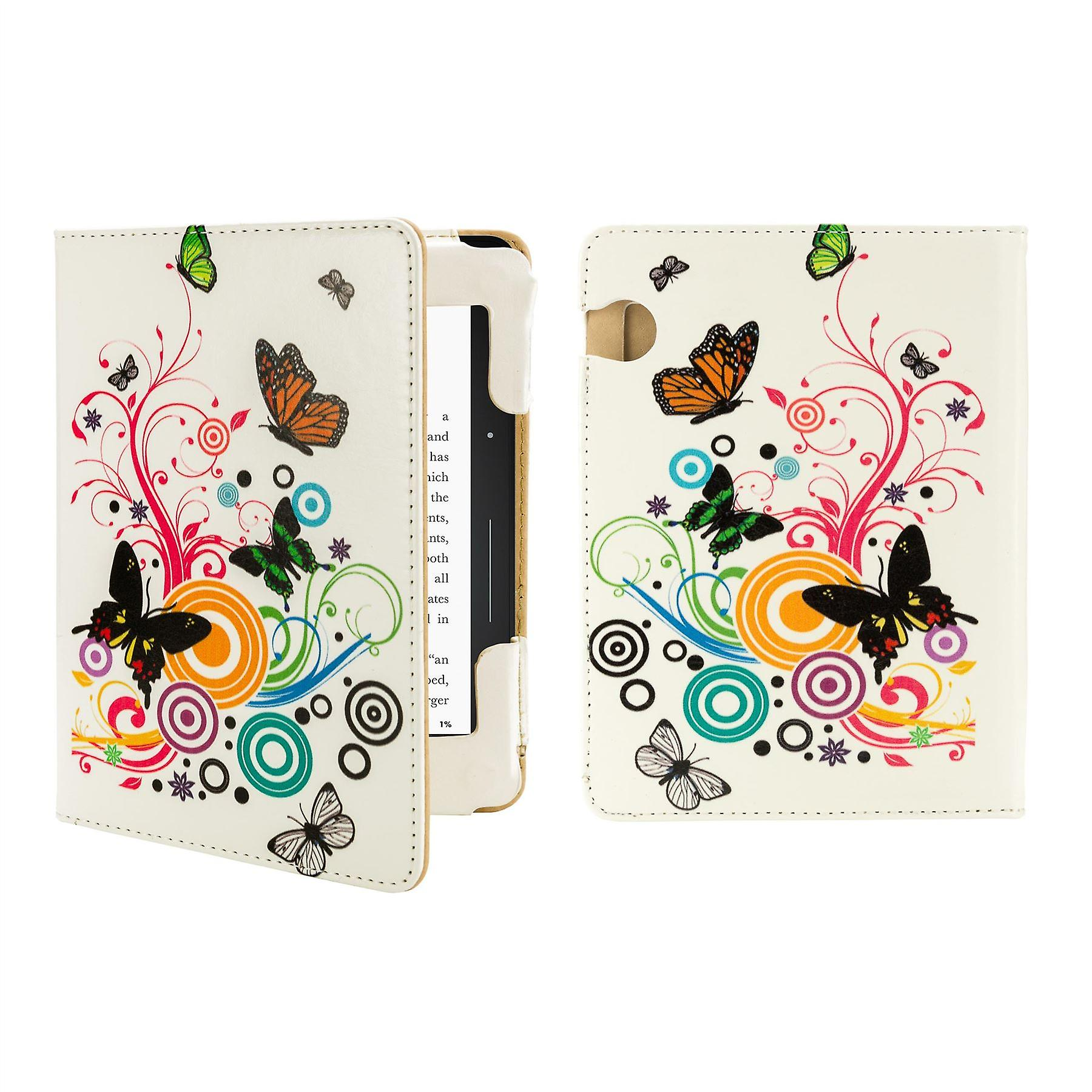 Design book case cover for Amazon Kindle Voyage - Colour Butterfly