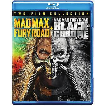 Mad Max: Fury Road / Fury Road svart & Chrome [Blu-ray] USA import