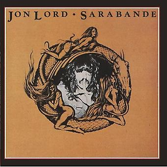 Jon Lord - importación de Estados Unidos Sarabande [CD]