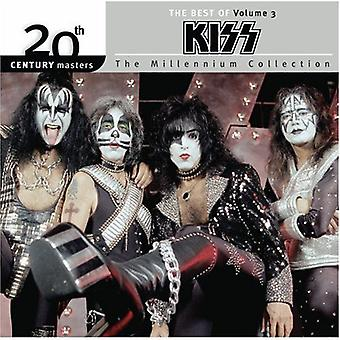 Kiss - Kiss: Vol. 3-Millennium Collection-20th Century Masters [CD] USA import