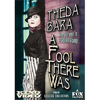Fool There Was [DVD] USA import