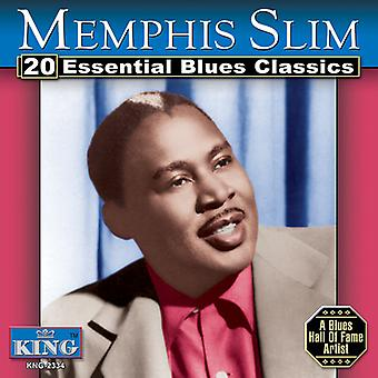 Memphis Slim - 20 Essential Blues Classics [CD] USA import