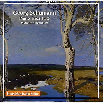 R. Schumann - Georg Schumann: Piano Trios 1 et 2 [CD] USA import
