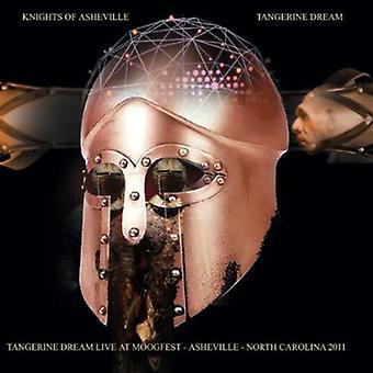 Tangerine Dream - riddare av Asheville: Live på Moogfest-[CD] USA import