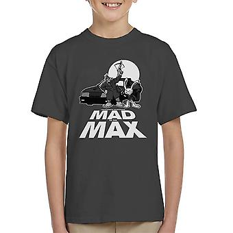 Mad To The Max Sam And Max Kid's T-Shirt