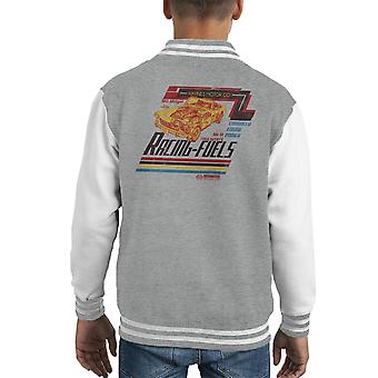 Haynes MG Midget Racing Fuels Distressed Kid's Varsity Jacket