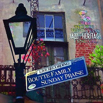 Boutte Family Sunday Praise - Live at Jazzfest 2013 [CD] USA import