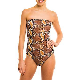 Kiniki Boa Tan Through Tube Swimsuit